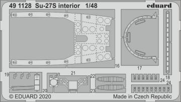 Su-27S Flanker - Interior [Kitty Hawk] · EDU 491128 ·  Eduard · 1:48