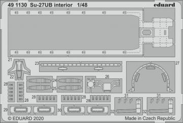 Su-27UB  Flanker - Interior [Kitty Hawk] · EDU 491130 ·  Eduard · 1:48