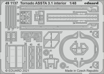 Tornado ASSTA 3.1 - Interior [Revell] · EDU 491137 ·  Eduard · 1:48