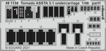 Tornado ASSTA 3.1 - Undercarriage [Revell] · EDU 491138 ·  Eduard · 1:48