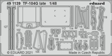 TF-104G Starfighter late [Kinetic Models] · EDU 491139 ·  Eduard · 1:48