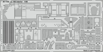 Junkers Ju 188 - Interior [Revell] · EDU 491143 ·  Eduard · 1:48