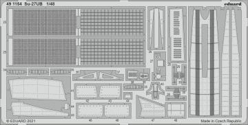 Su-27UB [Great Wall Hobby] · EDU 491154 ·  Eduard · 1:48