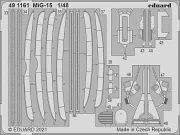 MiG-15 [Bronco] · EDU 491161 ·  Eduard · 1:48