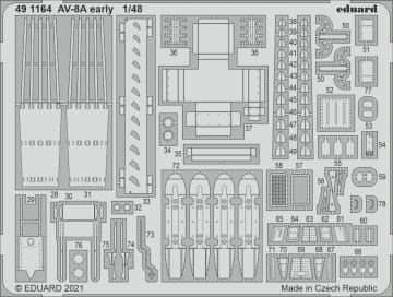 AV-8A Harrier early [Kinetic Models] · EDU 491164 ·  Eduard · 1:48