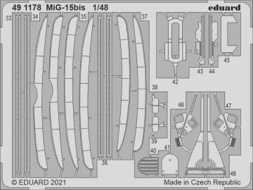 MiG-15bis [Bronco Models] · EDU 491178 ·  Eduard · 1:48