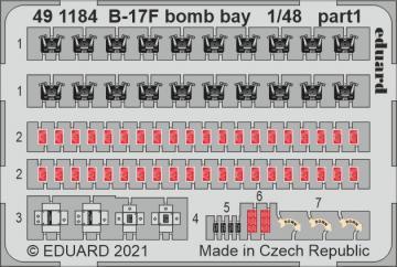 Boeing B-17F Flying Fortress - Bomb bay [HKM] · EDU 491184 ·  Eduard · 1:48
