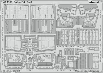 Sabre F.4 [Airfix] · EDU 491189 ·  Eduard · 1:48