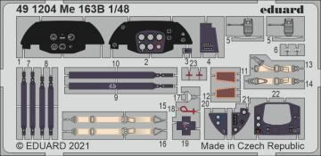 Messerschmitt Me 163B [Gaspatch Models] · EDU 491204 ·  Eduard · 1:48