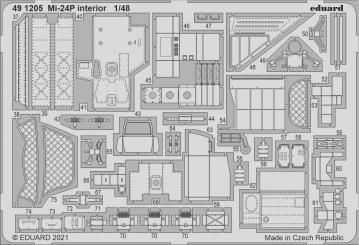 Mi-24P - Interior [Zvezda] · EDU 491205 ·  Eduard · 1:48