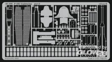 P-38J Lightning [Hasegawa] · EDU 49208 ·  Eduard · 1:48