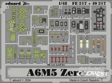 A6M5 Zero [Hasegawa] · EDU 49217 ·  Eduard · 1:48