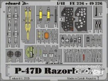 P-47D Razorback [Tamiya] · EDU 49226 ·  Eduard · 1:48