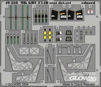 F-14D Tomcat - Ejection Seat [Hasegawa] · EDU 49228 ·  Eduard · 1:48