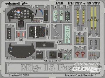MiG-15 Fagot [Trumpeter] · EDU 49232 ·  Eduard · 1:48