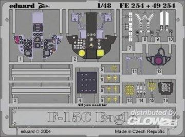 F-15C Eagle - Interior [Academy] · EDU 49254 ·  Eduard · 1:48