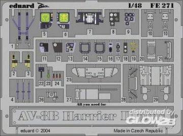 AV-8B Harrier II Plus · EDU 49271 ·  Eduard · 1:48