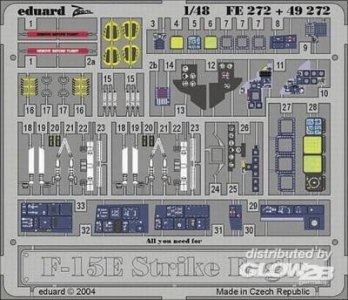 F-15E Strike Eagle Interior Set [Hasegawa] · EDU 49272 ·  Eduard · 1:48