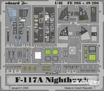 F-117A Nighthawk [Tamiya] · EDU 49286 ·  Eduard · 1:48