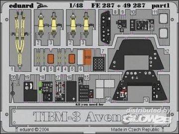 TBM-3 Avenger [Accurate Miniatures] · EDU 49287 ·  Eduard · 1:48