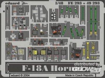 F-18A Hornet [Hasegawa] · EDU 49293 ·  Eduard · 1:48