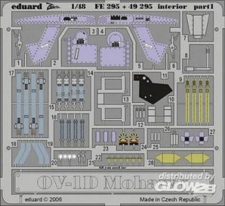 OV-1D Mohawk - Interior [Roden] · EDU 49295 ·  Eduard · 1:48
