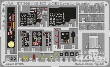 A-26B Invader interior für Revell Monogram/Bausatz · EDU 49306 ·  Eduard · 1:48