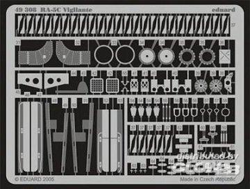 RA-5C Vigilante für Trumpeter Bausatz · EDU 49308 ·  Eduard · 1:48