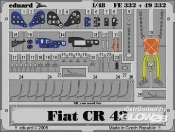 Fiat CR 42 [Italeri] · EDU 49332 ·  Eduard · 1:48