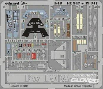 Focke-Wulf Fw 190 A-3 [Hasegawa] · EDU 49347 ·  Eduard · 1:48