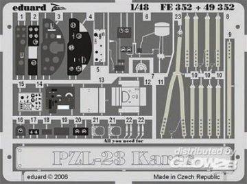 PZL-23 Karas für Mirage Bausatz · EDU 49352 ·  Eduard · 1:48