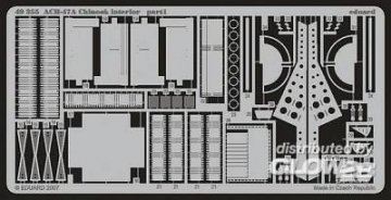 CH-47A Chinook interior für Italeri Bausatz · EDU 49355 ·  Eduard · 1:48