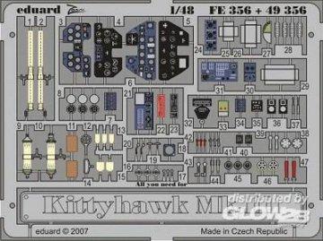 Kittyhawk Mk.III [Hasegawa] · EDU 49356 ·  Eduard · 1:48