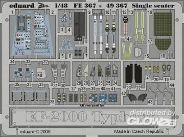 Eurofighter Typhoon Single Seater [Revell] · EDU 49367 ·  Eduard · 1:48