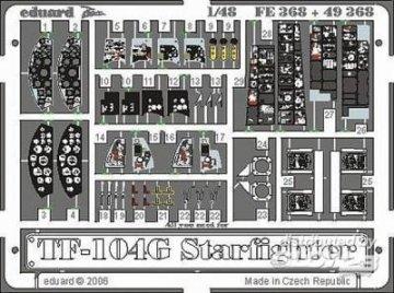 TF-104G Starfighter [Hasegawa] · EDU 49368 ·  Eduard · 1:48