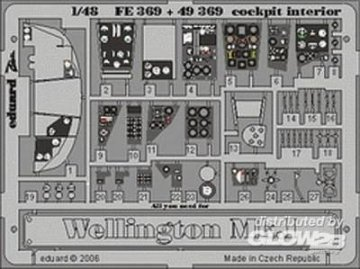 Wellington  Mk.I - Cockpit - Interior [Trumpeter] · EDU 49369 ·  Eduard · 1:48