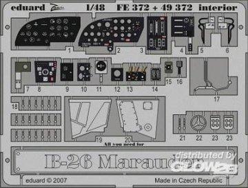 B-26 Marauder - Interior [Revell] · EDU 49372 ·  Eduard · 1:48