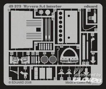 Wyvern S.4 interior für Trumpeter-Bausatz · EDU 49373 ·  Eduard · 1:48