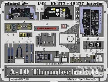 A-10 Thunderbolt II - Interior [Italeri] · EDU 49377 ·  Eduard · 1:48