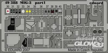 MiG-3 [Trumpeter] · EDU 49388 ·  Eduard · 1:48