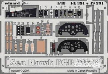 Sea Hawk FGR Mk.6 S.A. [Trumpeter] · EDU 49391 ·  Eduard · 1:48