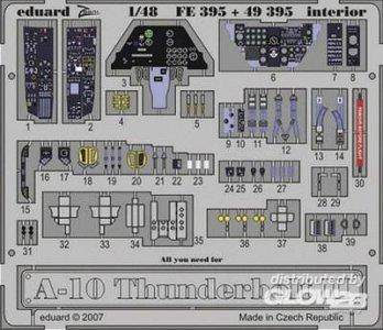 A-10 Thunderbolt II - Interior [HobbyBoss] · EDU 49395 ·  Eduard · 1:48