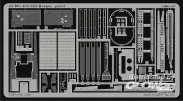 F/A18A Hornet s.adh. für Hobby Boss Bausatz · EDU 49406 ·  Eduard · 1:48