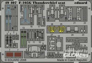 F105G Thunderchief seat [Revell] · EDU 49407 ·  Eduard · 1:48