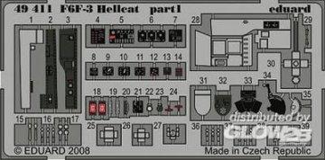F6F3 Hellcat S.A. [Eduard] · EDU 49411 ·  Eduard · 1:48