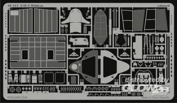 F4F-3 Wildcat für Hobby Boss Bausatz · EDU 49412 ·  Eduard · 1:48