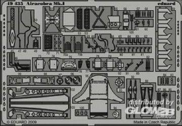 Airacobra Mk.I S.A. [Hasegawa] · EDU 49435 ·  Eduard · 1:48