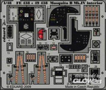 Mosquito B Mk.IV interior self adhesive Für Revell Bausatz · EDU 49438 ·  Eduard · 1:48