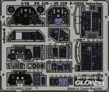 F-105G - Interior S.A. [HobbyBoss] · EDU 49439 ·  Eduard · 1:48
