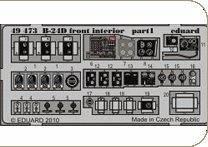 B-24D Front - Interior [Revell] · EDU 49473 ·  Eduard · 1:48